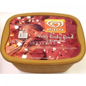 Selecta Ice Cream Rocky Road Flavor 1.5L