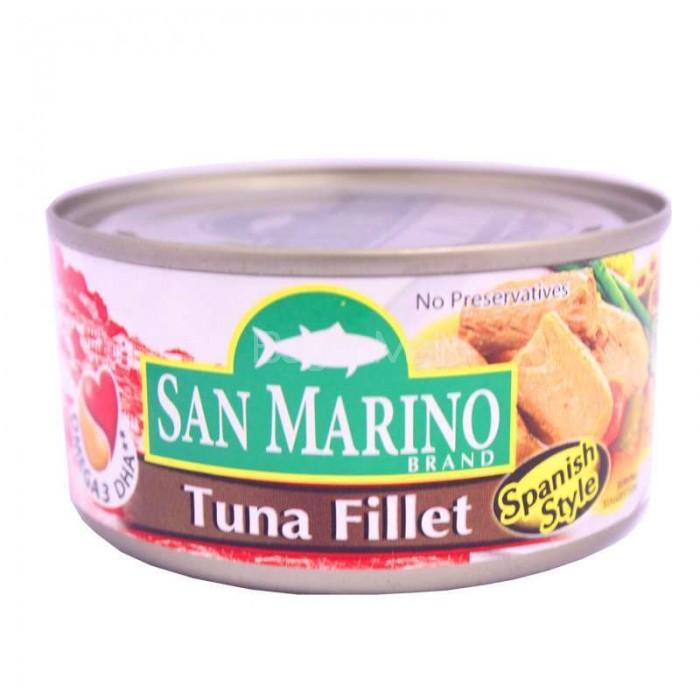 San Marino Tuna Fillet Spanish Style 180g