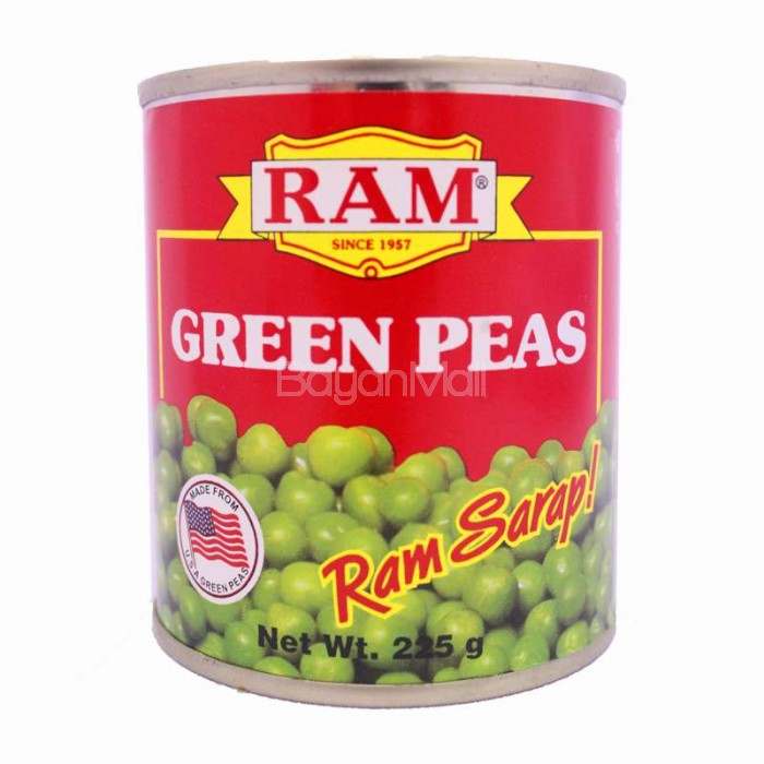 Ram Green Peas 225g
