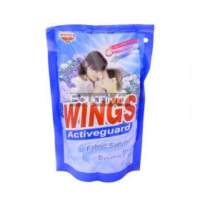 Wings Fabric Softener Refreshing Blue 250mL