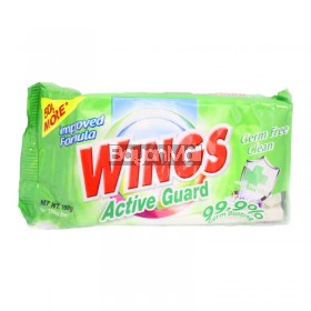 Wings Detergent Bar Active Guard 150g
