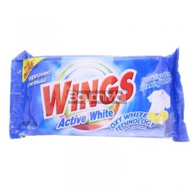 Wings Detergent Bar Active White 150g