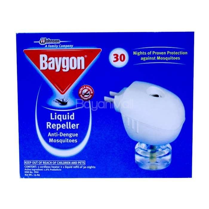 Baygon Liquid Mosquito Repeller 19 8g