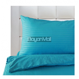 Mezzo Pure M-3 Cyan Blue Bedding Set