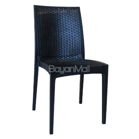 8098 Black Whole Pp Plastic Chair
