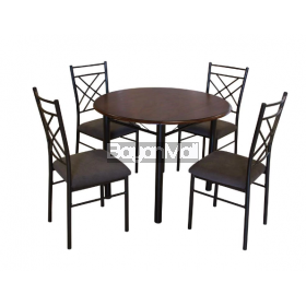 DS50164 4 Seater Dining Set