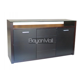 Ksg-8332bbb Dark Walnut Buffet