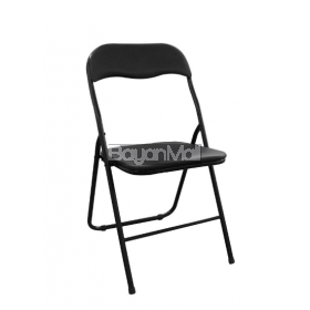 Sc98004 Black Folding Chair