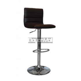 T-1007 Dark Brown Bar Chair