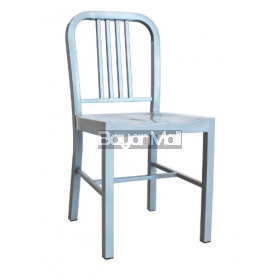 T-5829 Gray Metal Dining Chair