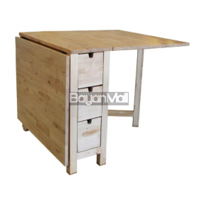 Txt-8 Natural Wooden Folding Table