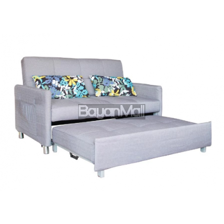 3021 Grey Pull-Out Sofa Bed