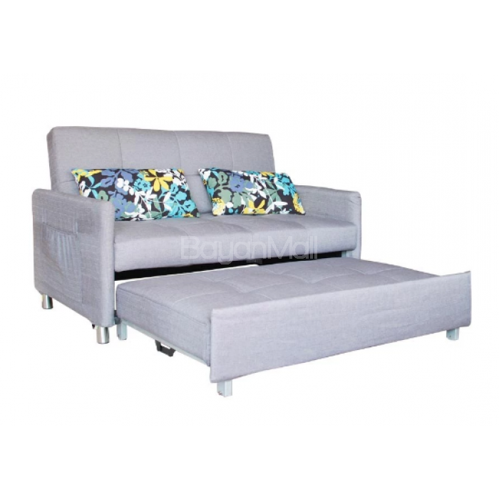 3021 Grey Pull Out Sofa Bed