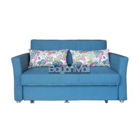 3028 Dark Blue Sofa Bed And Storage