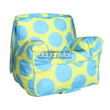 6109 Blue Dot Bean Bag