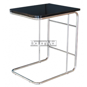 C2139l00 Black Side Table