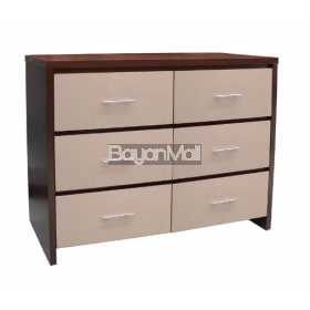 Hb3486 6 Chest Of Drawer