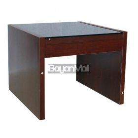 Kl6164 Dark Brown Side Table
