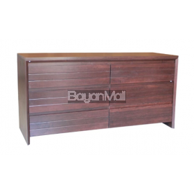 Mc6071 Dark Brown Chest Of Drawer