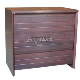 Mc6075 Dark Brown Chest Of Drawer