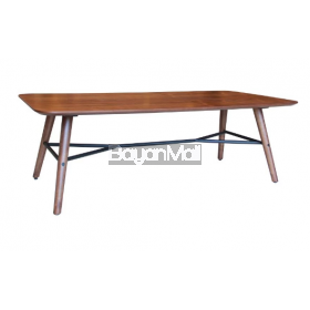 Mit-8028 Walnut Coffee Table