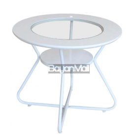 Xjh-131019 White Side Table