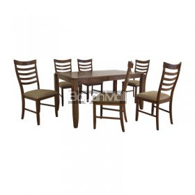 AC3149 Ragwort 6 Seater Dining Set