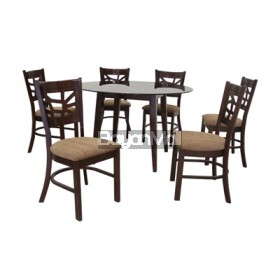 Yhtp(Gtb) Coco 6 Seater Dining Set