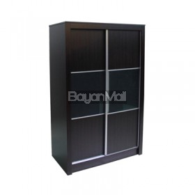 Wd 827 Fd-8823 2 Door Wenge Sliding Wardrobe