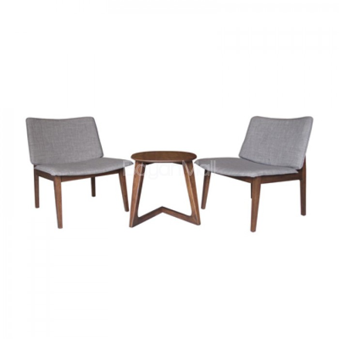 Mit 1096 Table Mi 335 Lounge Chair 2 Seater Coffee Set