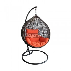 ND14503 BALI OUTDOOR SWING 108cm w | 82cm d | 120cm h