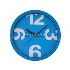 WBY-2867A BLUE WALL CLOCK