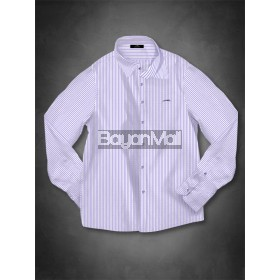 2W33-KAYIN (WHT/PURPLE STRIPES-L)