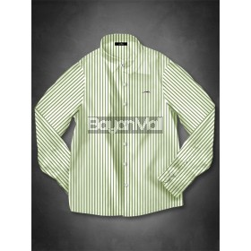 2W33-KAYIN (WHITE/GREEN STRIPES-L)