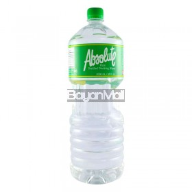 Absolute Pure Distilled Drinking Water 2000 ml/68 fl. Oz.
