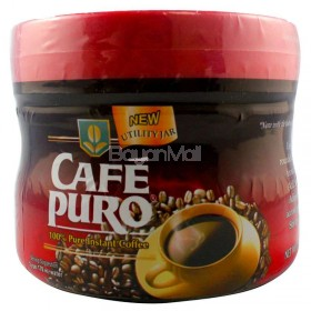 Cafe Puro 100% Pure Instant Coffee Net.Wt. 100g in a bottle