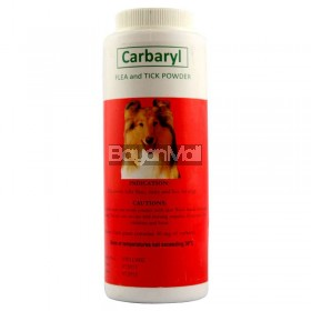 Carbaryl Petgard - Flea and Tick Powder 120g