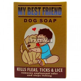 My Best Friend Dog Soap (Kills Fleas, Ticks & Lice) 90g