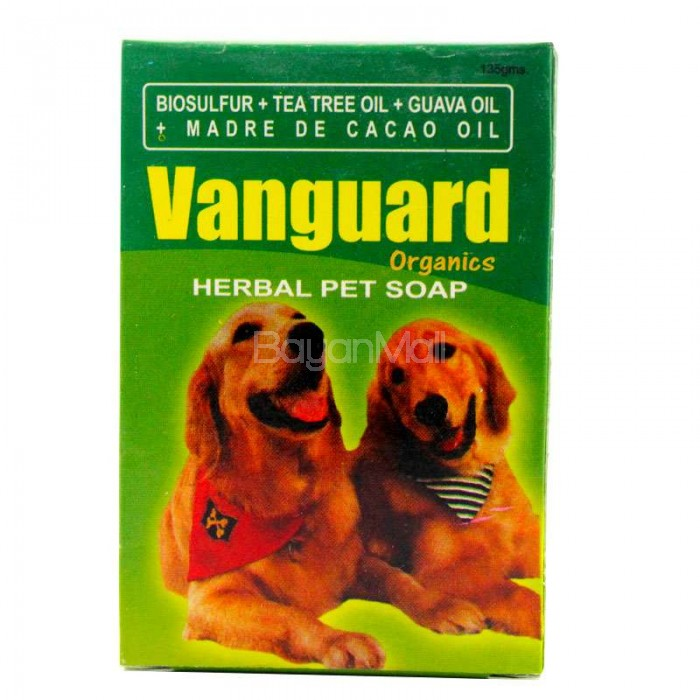 Vanguard Organic Herbal Pet Soap 135g