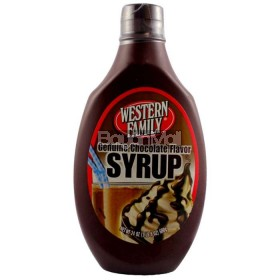 Western Family Genuine Chocolate Flavor Syrup 680g