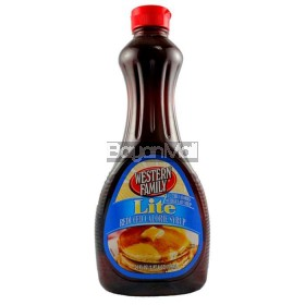 Western Family Lite Reduced Calorie Syrup 709ml