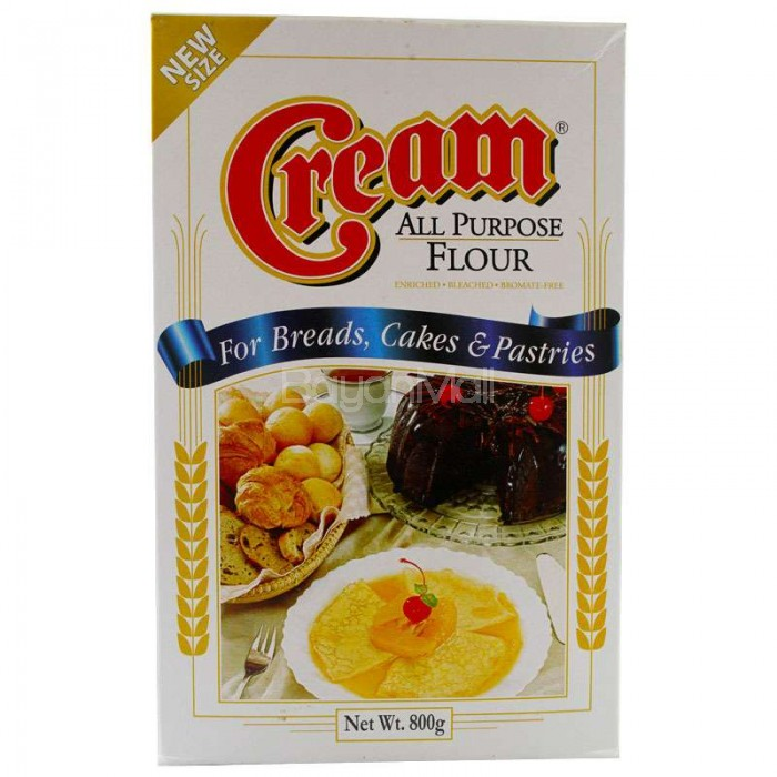 Cream All Purpose Flour For Breads Cakes Amp Pastries 800g
