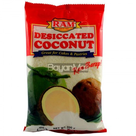 Ram Desiccated Coconut Great For Cakes Amp Pastries 200g