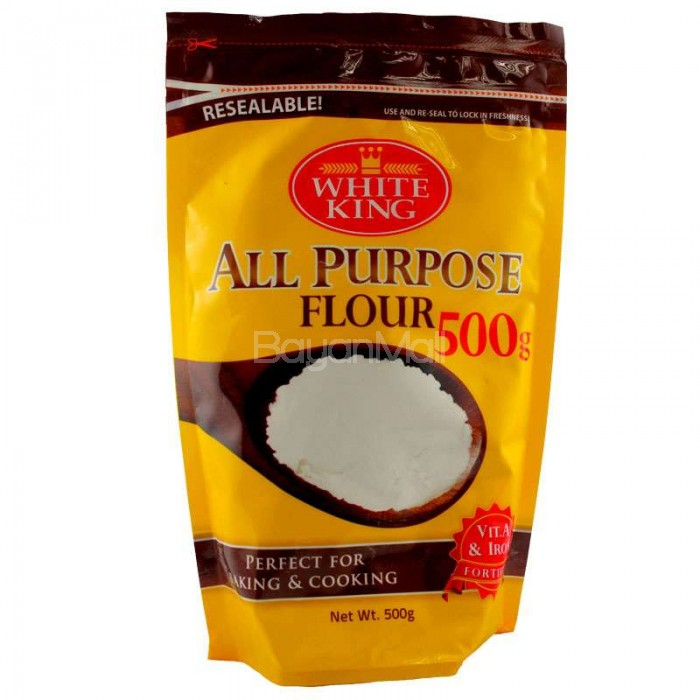 White king all purpose flour 500g for Atkins cuisine all purpose baking mix where to buy