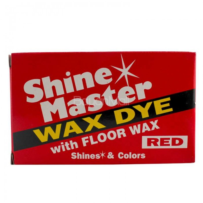 Shine Master Dye Wax Wit Floorwax Red Shines Amp Colors 375g