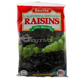 Sevilla California Seedless Raisins (100% Natural) 200g