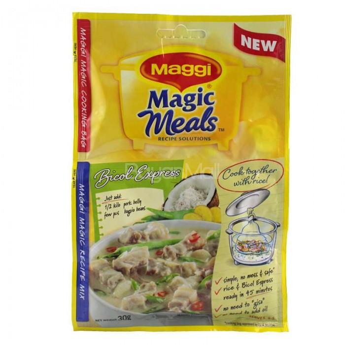 Maggi Magic Meals Recipe Solutions Bicol Express 30g