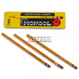Mongol Pencil No. 2 - 1 Box