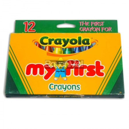 Crayola My First Crayons 12 Colors Non Toxic
