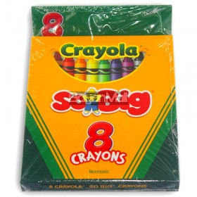 Crayola So Big Crayons 8 Colors Non-Toxic